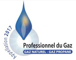 Professionnel du Gaz - Appellation 2017